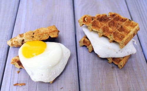 09 - Feed Me Seymour - Cornmeal Waffles