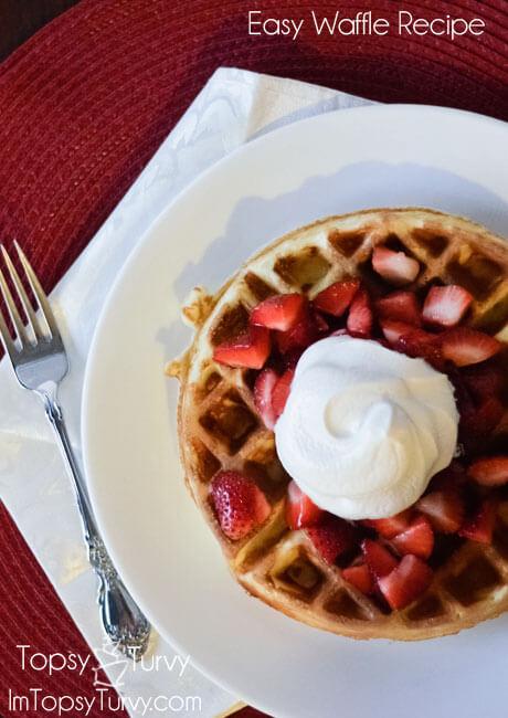 13 - Ashlee Marie - Easy Waffles