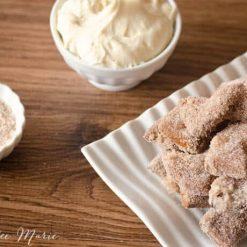 cinnamon sugar soft pretzel sticks