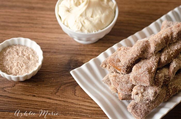 Soft Pretzel recipe – Cinnamon and Sugar sticks