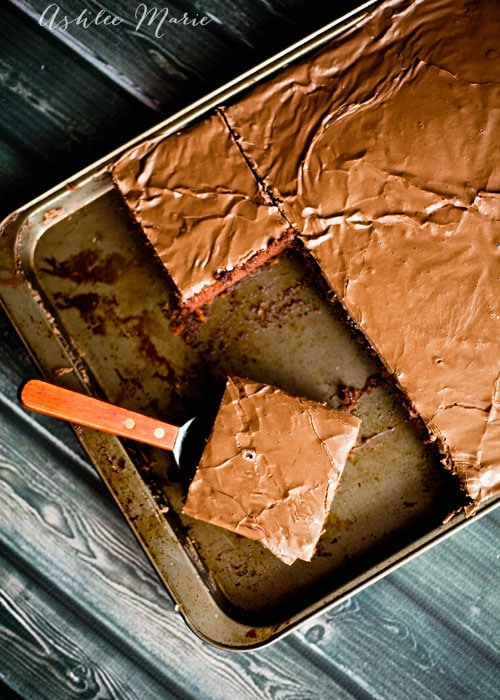 this recipe for texas sheetcake couldn't be easier to make and everyone loves it