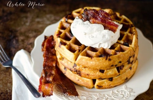 16 - Ashlee Marie - Maple Bacon Waffles