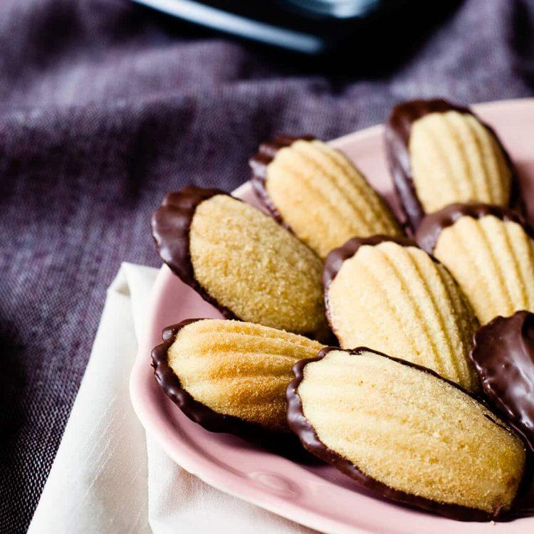 Brown butter madeleines