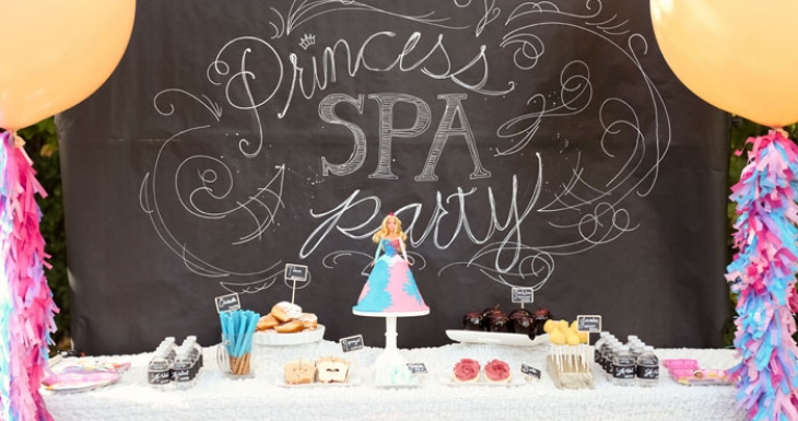 Disney Royal Princess Spa Party