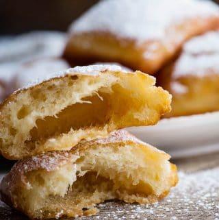 easy homemade beignets