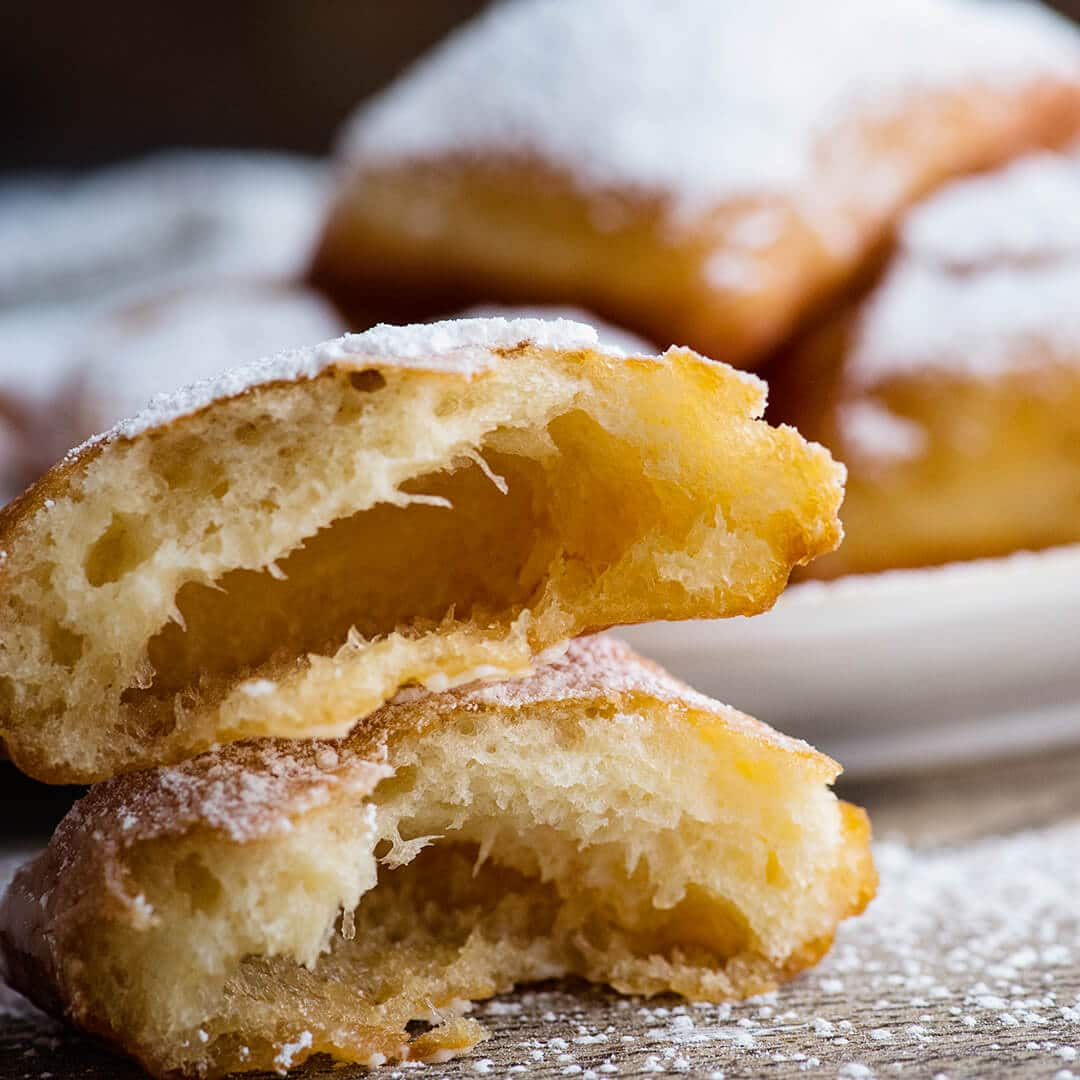 easy homemade beignets