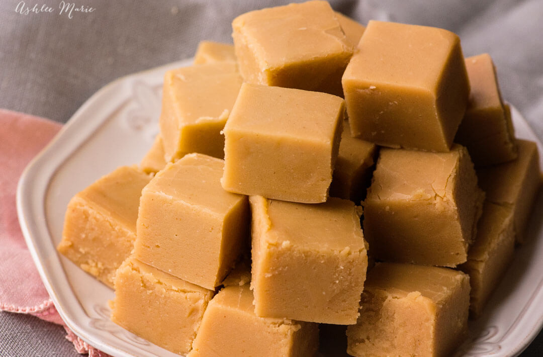 Peanut Butter Fudge Recipe Ashlee Marie Real Fun With