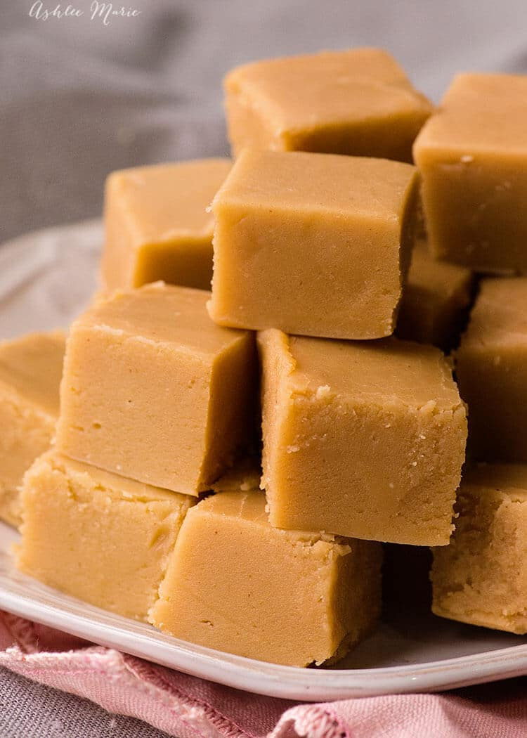 peanut butter fudge recipe and video tutorial