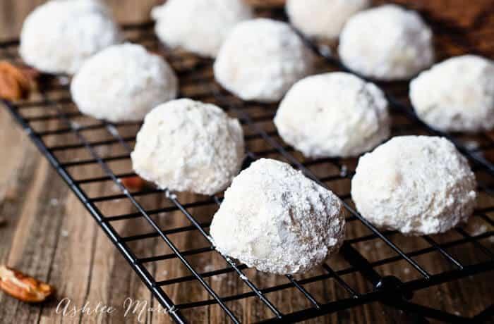 Sandies - Mexican wedding cookies
