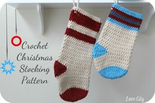 03 - Crochet Love Christmas Stockings