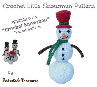15 - Crochet Little Snowman
