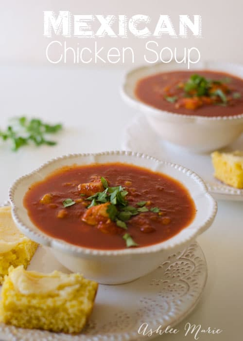 my favorite part of the soup is the cilantro, are you a cilantro lover?