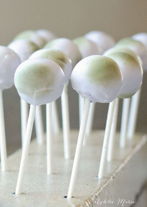 I love Frozen party foods, these Rock Troll cookie pops are easy and adorable
