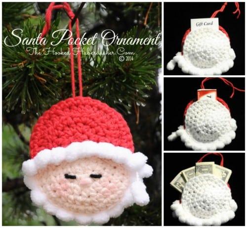 16 - Santa Ornament