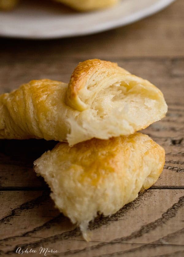 you can make delicious, buttery, croissants at home