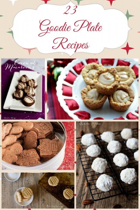23 recipes perfect for Holiday goodie plates