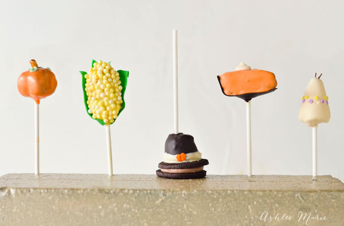 Thanksgiving Make and Take OREO Cookie Balls Party - Pumpkin pops