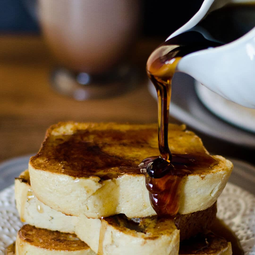 The Best French Toast Recipe Ashlee Marie Real Fun With Real Food