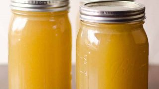 How to make your own Turkey Stock - bone broth recipe