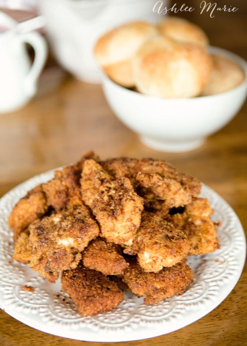 breaded chicken recipe