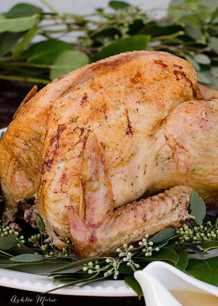 A video tutorial for the PERFECT turkey - always moist and full of flavor!