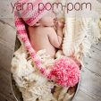 how to make an extra large yarn pom pom, tutorial