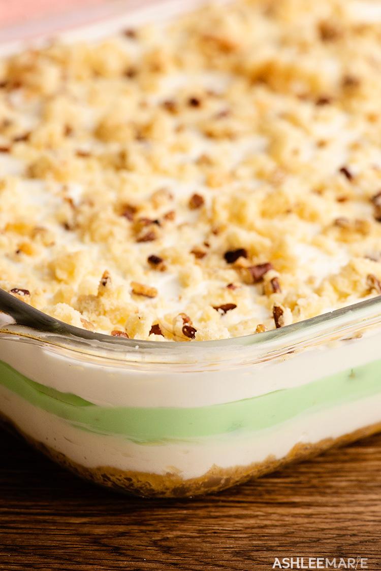 pistachio dessert lasagna