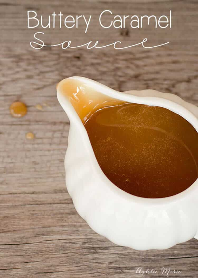 this caramel sauce is smooth, buttery and the most delicious sauce ever