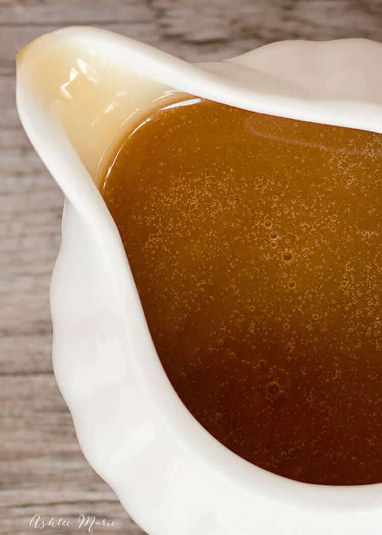 this recipe for buttery caramel sauce is divine