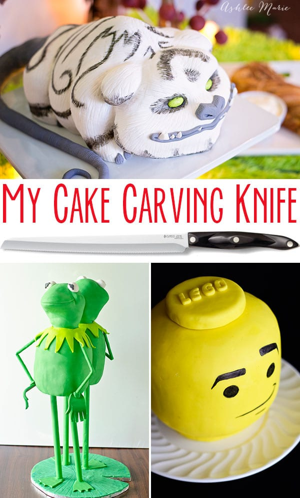 the perfect cake carving knife tips