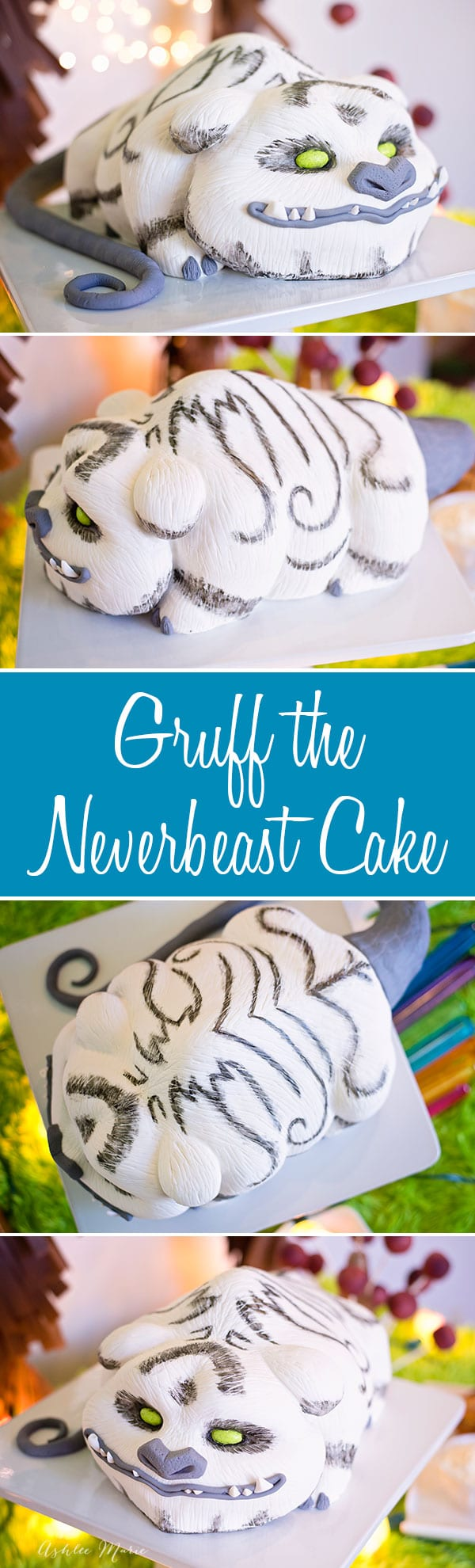 My hand carved and painted Neverbeast cake with a full video tutorial