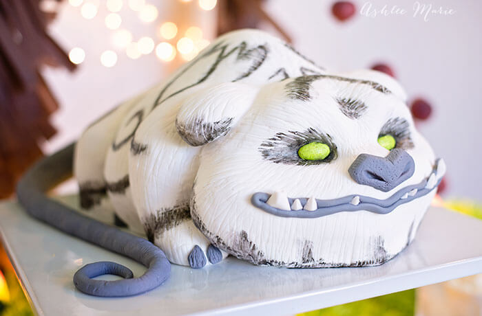 Gruff the Neverbeast cake