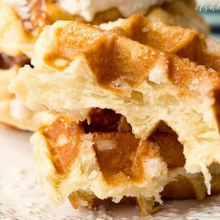 coconut liege waffle recipe
