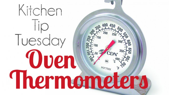 why you should have an oven thermometer