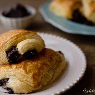 homemade pain au chocolat recipe and video