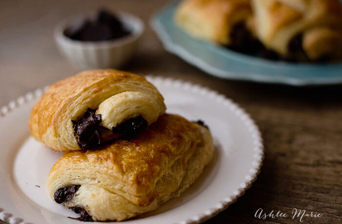 homemade pain au chocolat recipe and video