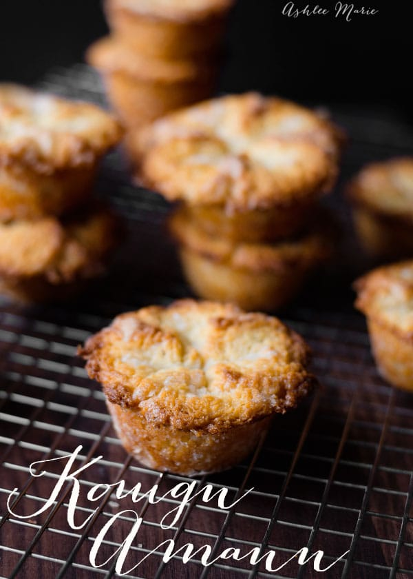Kouign Amann are sweet delicate layered pastries that just melt in your mouth