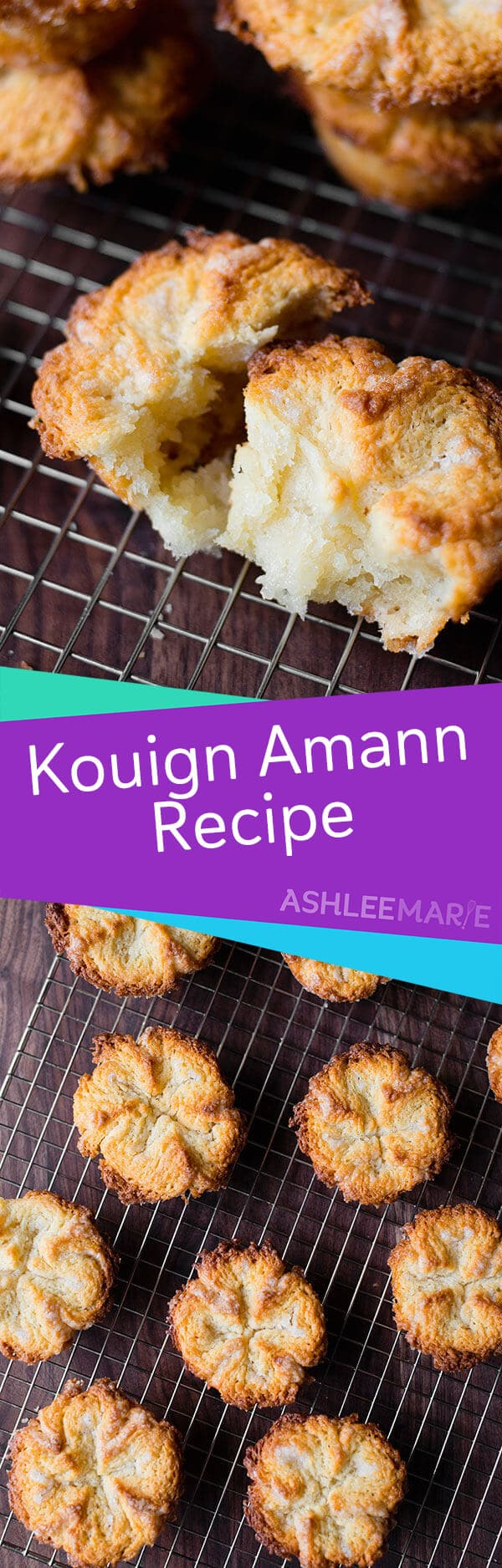 homemade laminated kouign amann recipe and video tutorial