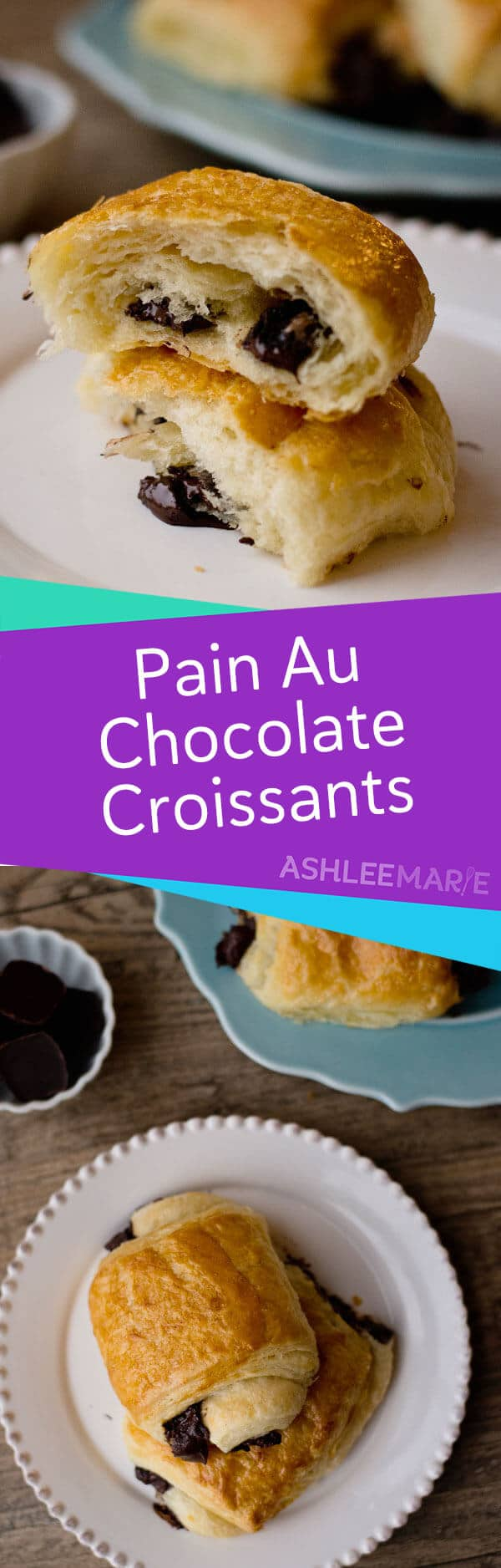 pain au chocolat - chocolate croissant recipe