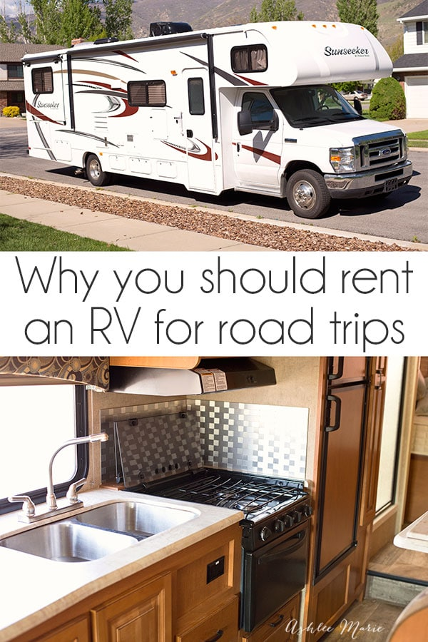 the best thing we ever did to turn our family road trips from nightmare to dream come true was to rent an RV, and a giveaway for an RV rental!