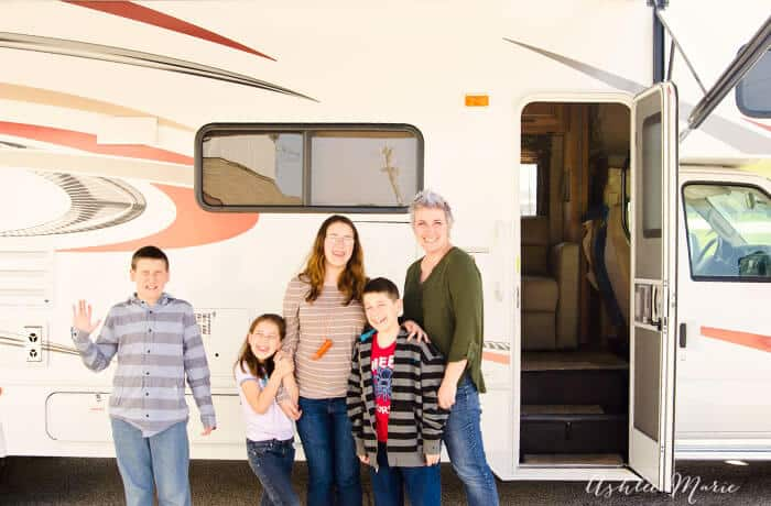 rent an RV for family road trips
