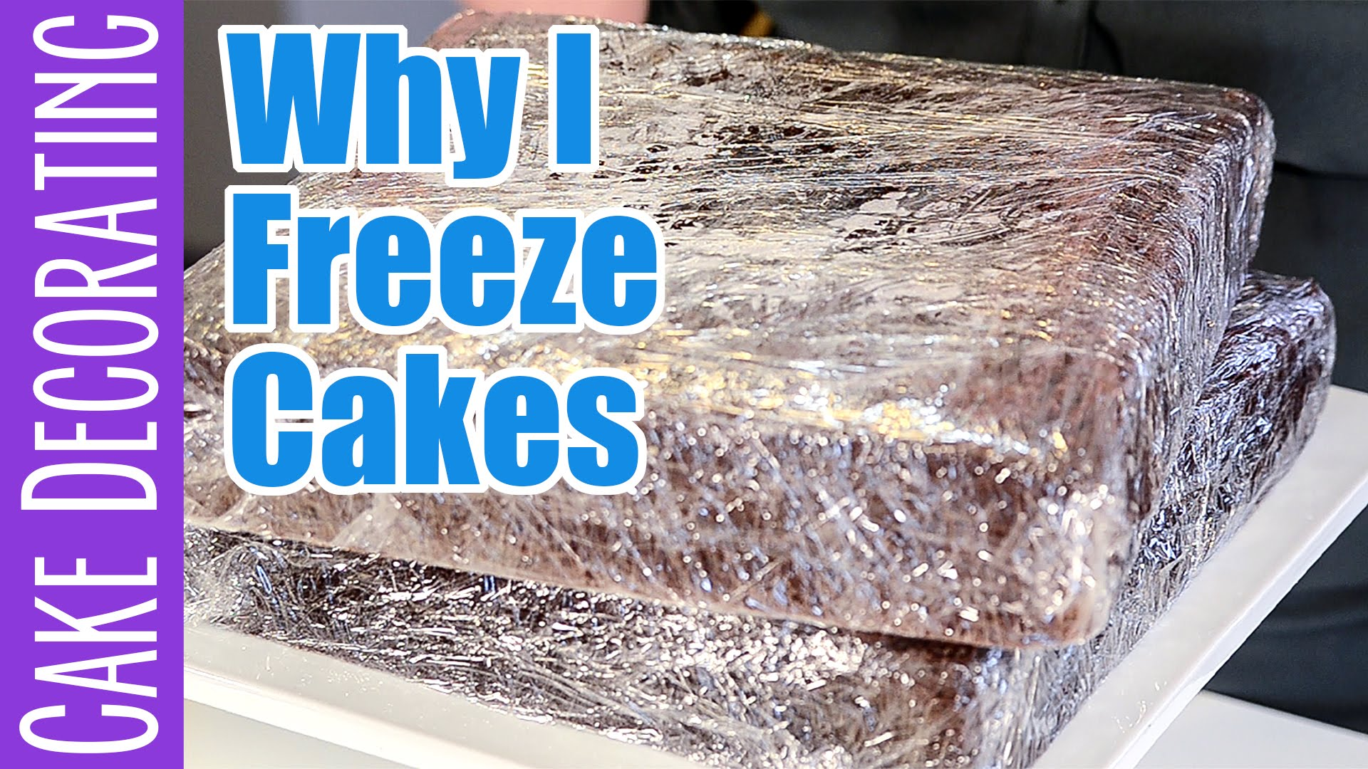 Why Freezing Cakes Keeps Them Moist Ashlee Marie Real Fun With Real Food