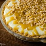 frozen caramel and toffee pie recipe