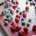 making crisp sugared berries is easy and delicious