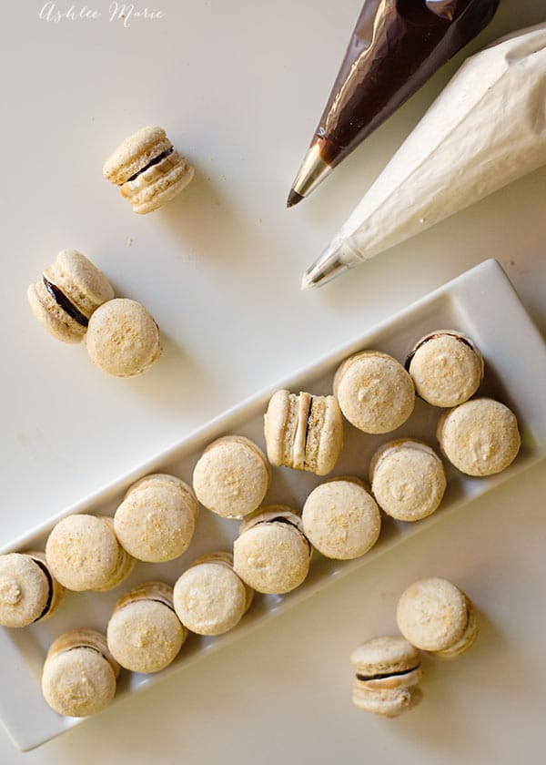 smore macarons are a delicious treat that everyone loves