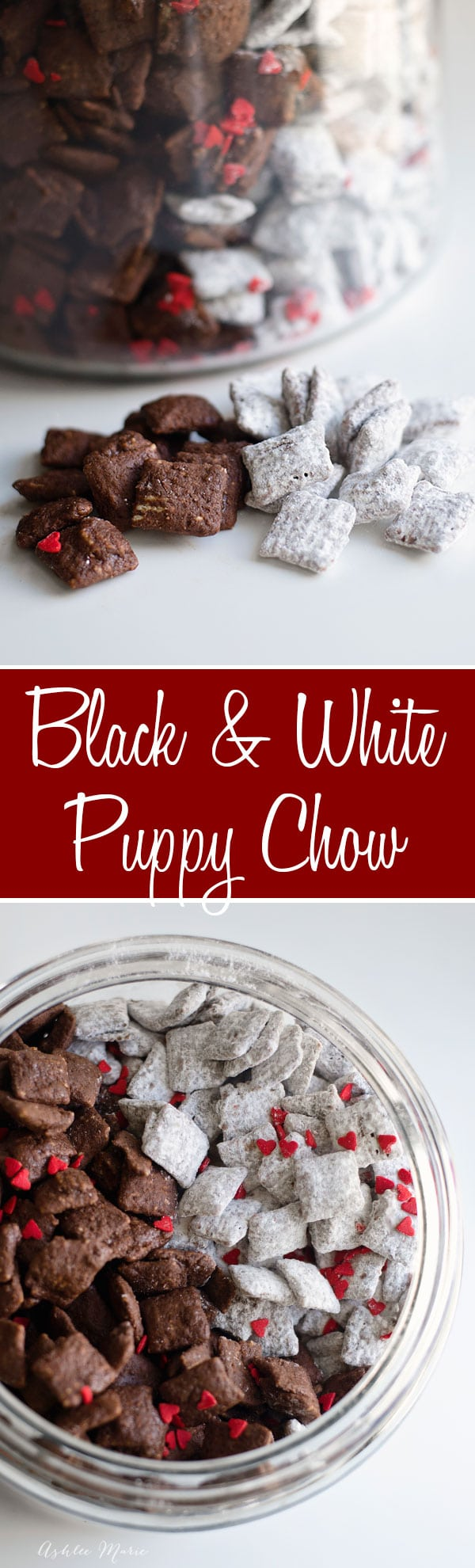 black and white puppy chow is perfect for disneys cruella deville