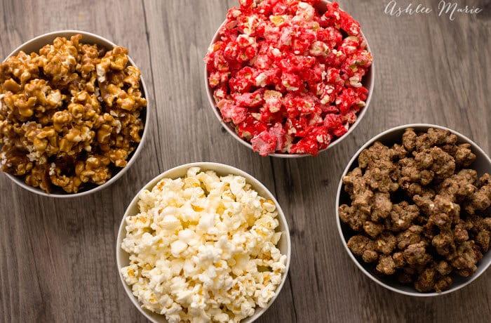 four popcorn recipe flavors fantastic 4 movie
