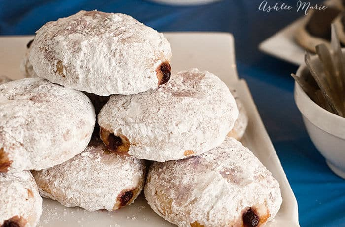 Jelly Filled Powdered Donut Recipe