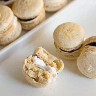 smore macaron recipe