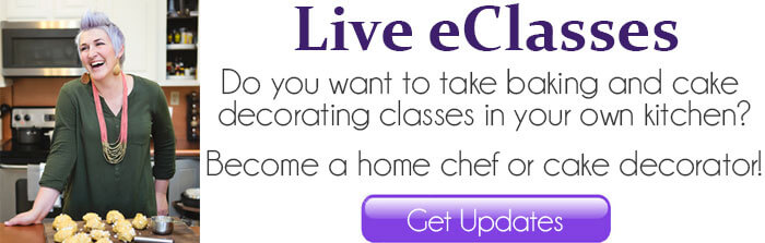 take baking and cake decorating classes live - become a home chef
